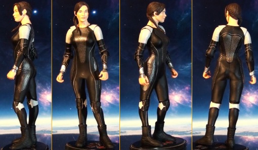 Neca Hunger Games Catching Figure Series 1 Katniss Everdeen 02