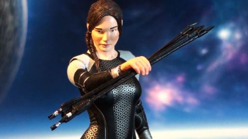 Neca Hunger Games Catching Figure Series 1 Katniss Everdeen 04