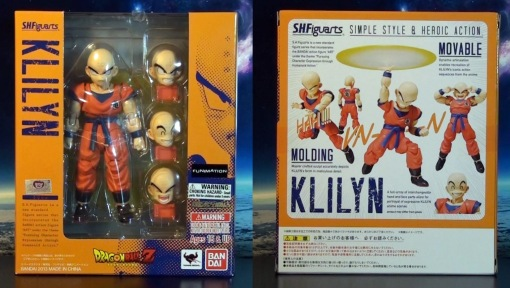 Bandai S H  Figuarts Dragon Ball Z Klilyn Krillin 01