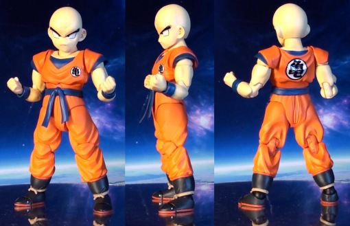 Bandai S H  Figuarts Dragon Ball Z Klilyn Krillin 02