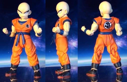 Bandai S H  Figuarts Dragon Ball Z Klilyn Krillin 02