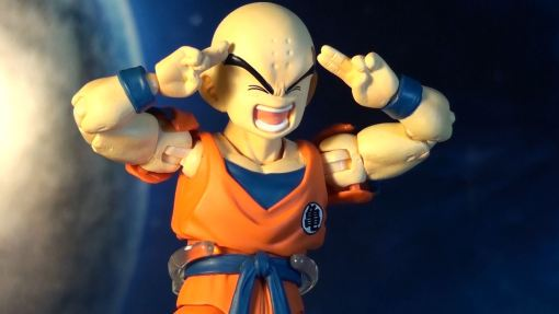 Bandai S H  Figuarts Dragon Ball Z Klilyn Krillin 04