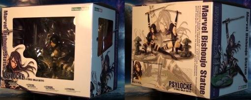 Kotobukiya Marvel Bishoujo Psylocke X-Force Ninja PVC Statue 01