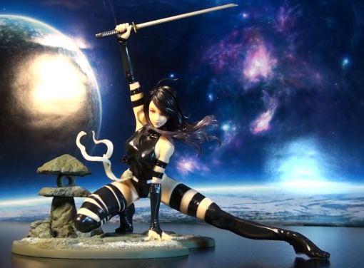 Kotobukiya Marvel Bishoujo Psylocke X-Force Ninja PVC Statue 012