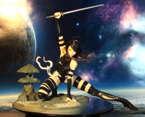 Kotobukiya Marvel Bishoujo Psylocke X-Force Ninja PVC Statue 02