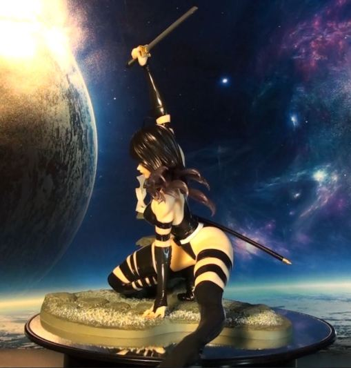 Kotobukiya Marvel Bishoujo Psylocke X-Force Ninja PVC Statue 03