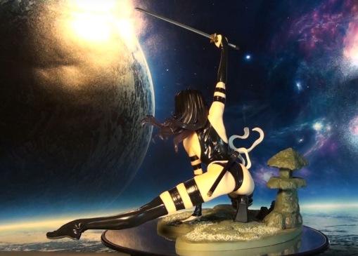 Kotobukiya Marvel Bishoujo Psylocke X-Force Ninja PVC Statue 04