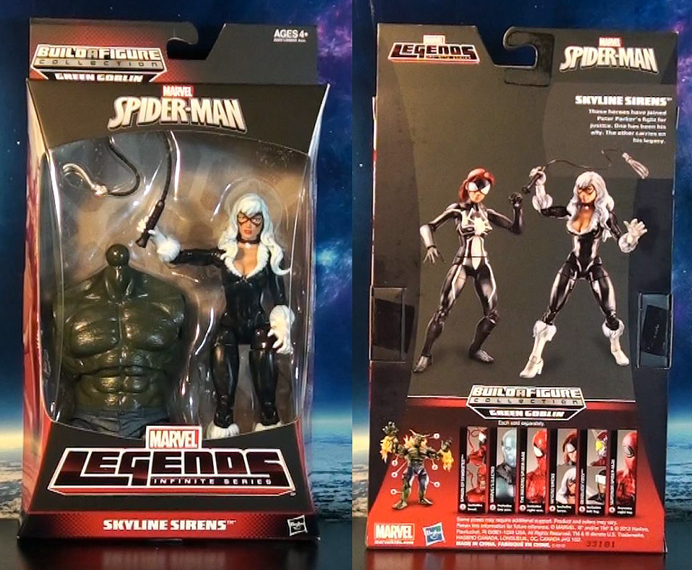 R309 marvel legends infinite series spider man black cat review