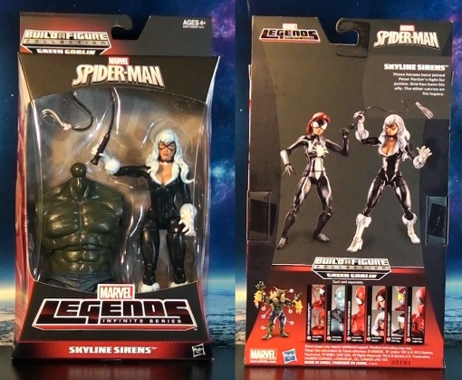 Marvel Legends Infinite Series Spider-Man Black Cat 01