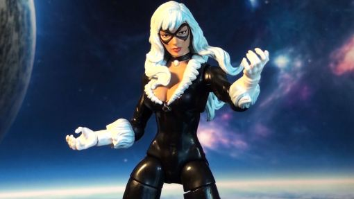 Marvel Legends Infinite Series Spider-Man Black Cat 06