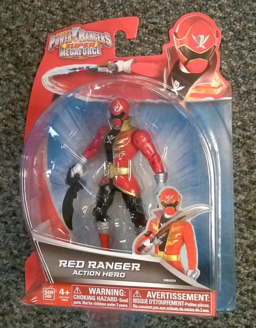 Power Rangers Super Megaforce 5 Red Ranger 01