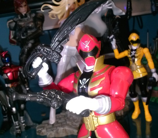 Power Rangers Super Megaforce 5 Red Ranger 03