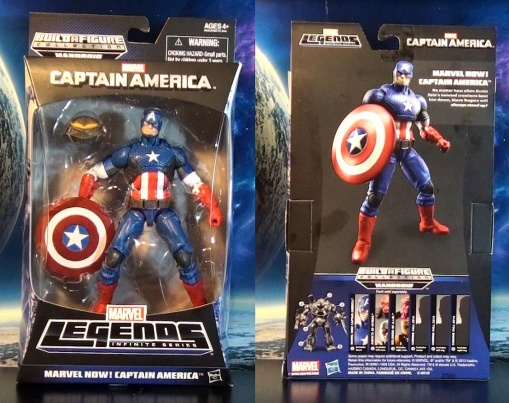 R308 Marvel Legends Infinite Series Captain America Marvel Now! 01
