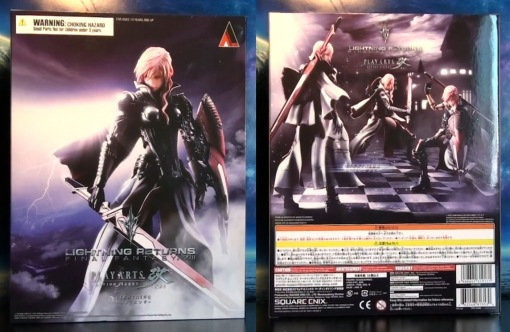Square Enix Play Arts Kai Final Fantasy 13 XIII Lightning Returns 01