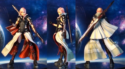 Square Enix Play Arts Kai Final Fantasy 13 XIII Lightning Returns 02