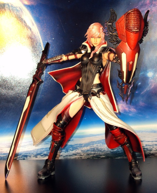 Square Enix Play Arts Kai Final Fantasy 13 XIII Lightning Returns 06