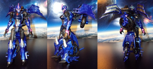 Takara Tomy G22 Transformers Beast Hunters Arcee 04