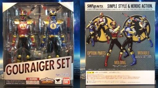 Bandai S.H. Figuarts Gouraiger Power Rangers Ninjastorm Thunder Rangers 01