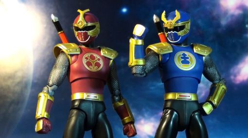 Bandai S.H. Figuarts Gouraiger Power Rangers Ninjastorm Thunder Rangers 03