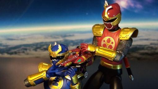 Bandai S.H. Figuarts Gouraiger Power Rangers Ninjastorm Thunder Rangers 05