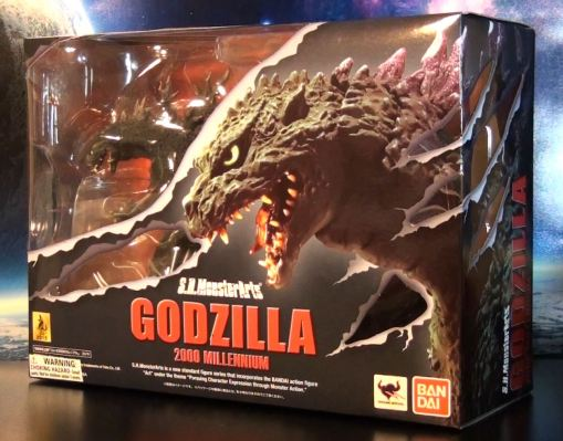Bandai S.H. MonsterArts Godzilla Millennium 2000 01