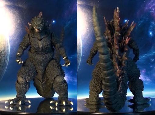 Bandai S.H. MonsterArts Godzilla Millennium 2000 03