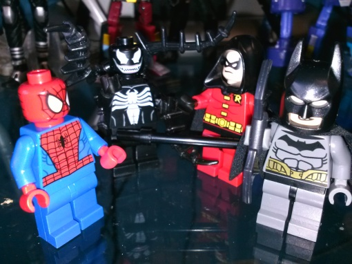 LEGO Superheroes Spider-Man Venom Robin Batman