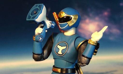 Bandai S.H. Figuarts Hurricanger Hurricane Blue 02
