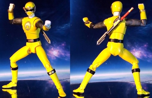 Bandai S.H. Figuarts Hurricanger Hurricane Yellow 01