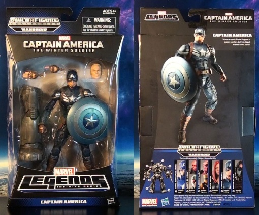 Hasbro Marvel Legends Infinite Series Captain America Winter Soldier 01