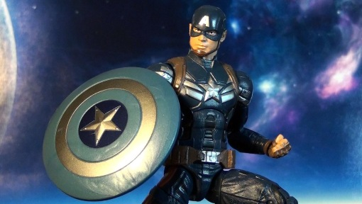 Hasbro Marvel Legends Infinite Series Captain America Winter Soldier 02