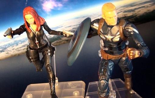 Hasbro Marvel Legends Infinite Series Captain America Winter Soldier 06