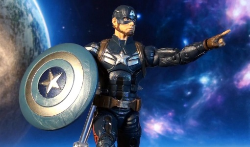 Hasbro Marvel Legends Infinite Series Captain America Winter Soldier 07