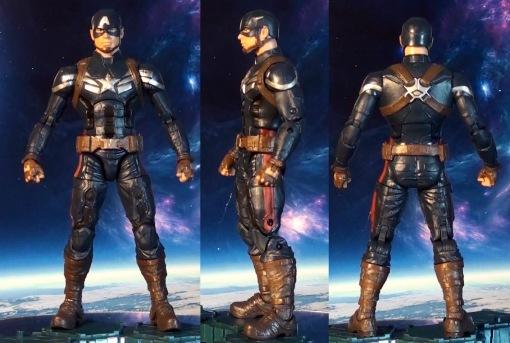 Hasbro Marvel Legends Infinite Series Captain America Winter Soldier 08