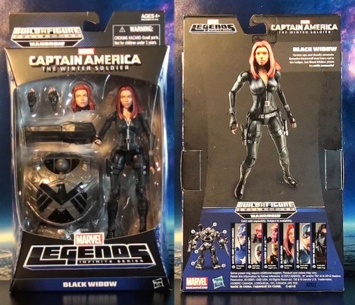 R316 Hasbro Marvel Legends Infinite Series Black Widow (Cap 2 Winter Soldier) 01