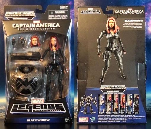 R316 Hasbro Marvel Legends Infinite Series Black Widow (Cap 2 Winter Soldier) 01
