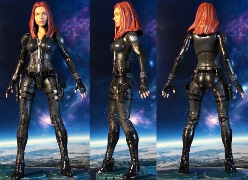R316 Hasbro Marvel Legends Infinite Series Black Widow (Cap 2 Winter Soldier) 02