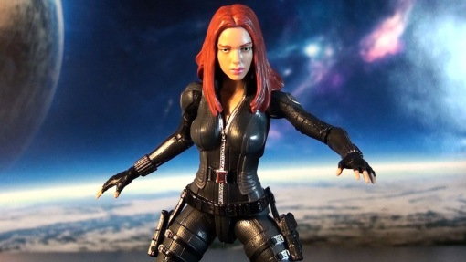 R316 Hasbro Marvel Legends Infinite Series Black Widow (Cap 2 Winter Soldier) 03