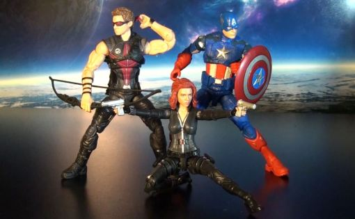 R316 Hasbro Marvel Legends Infinite Series Black Widow (Cap 2 Winter Soldier) 05