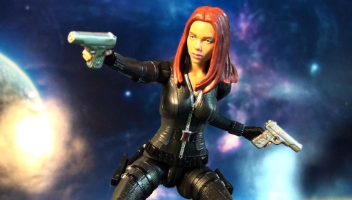 R316 Hasbro Marvel Legends Infinite Series Black Widow (Cap 2 Winter Soldier) 06