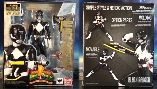 Bandai S.H. Figuarts Mighty Morphin Power Rangers Black Ranger 01