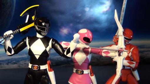 Bandai S.H. Figuarts Mighty Morphin Power Rangers Black Ranger 06