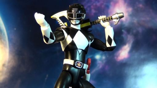 Bandai S.H. Figuarts Mighty Morphin Power Rangers Black Ranger 07