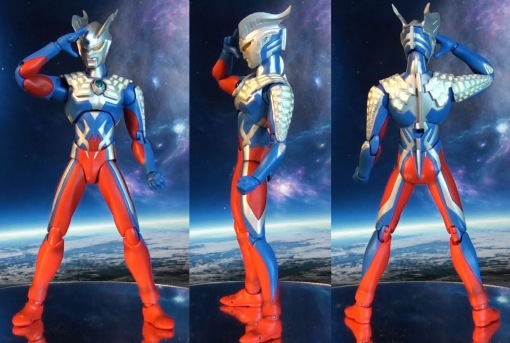 Bandai Ultra-Act Ultraman Zero Renewal 2.0 02