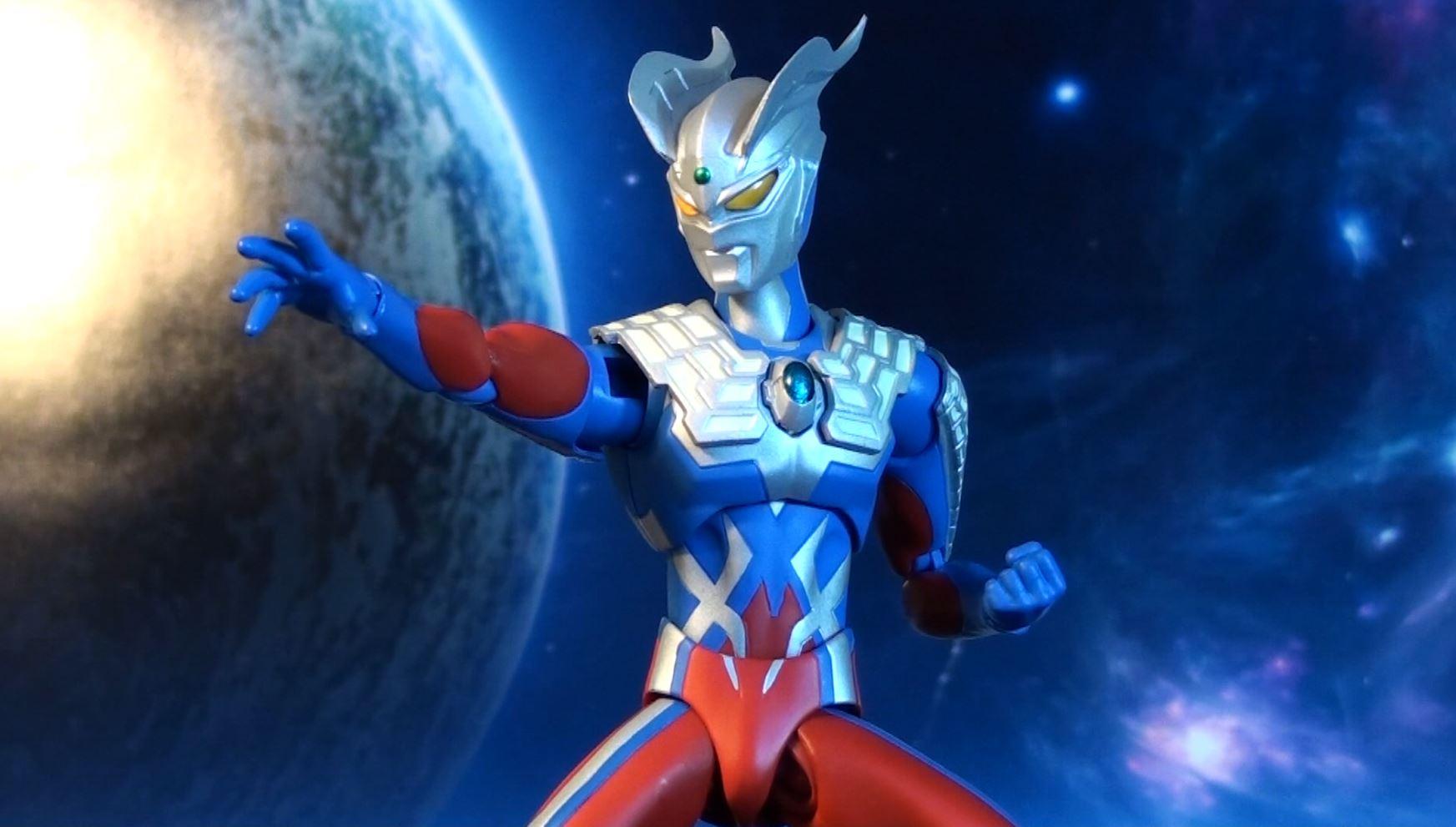 Ultraman Zero New Form Bandai Ultra-Act Ultraman Zero