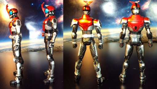 Masked Rider Kabuto Version 1 vs. Renewal 05
