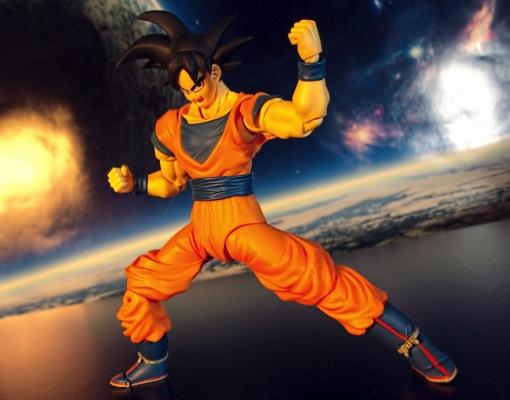Bandai S.H. Figuarts Dragon Ball Z Son Gokou 10