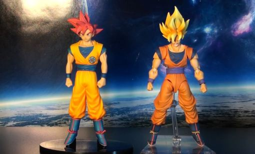Banpresto DXF Dragon Ball Z Super Saiyan God Son Gokou 06