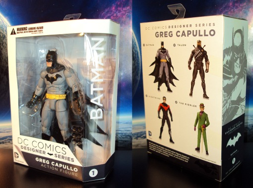 DC Collectibles Designer Series Greg Capullo Batman 01