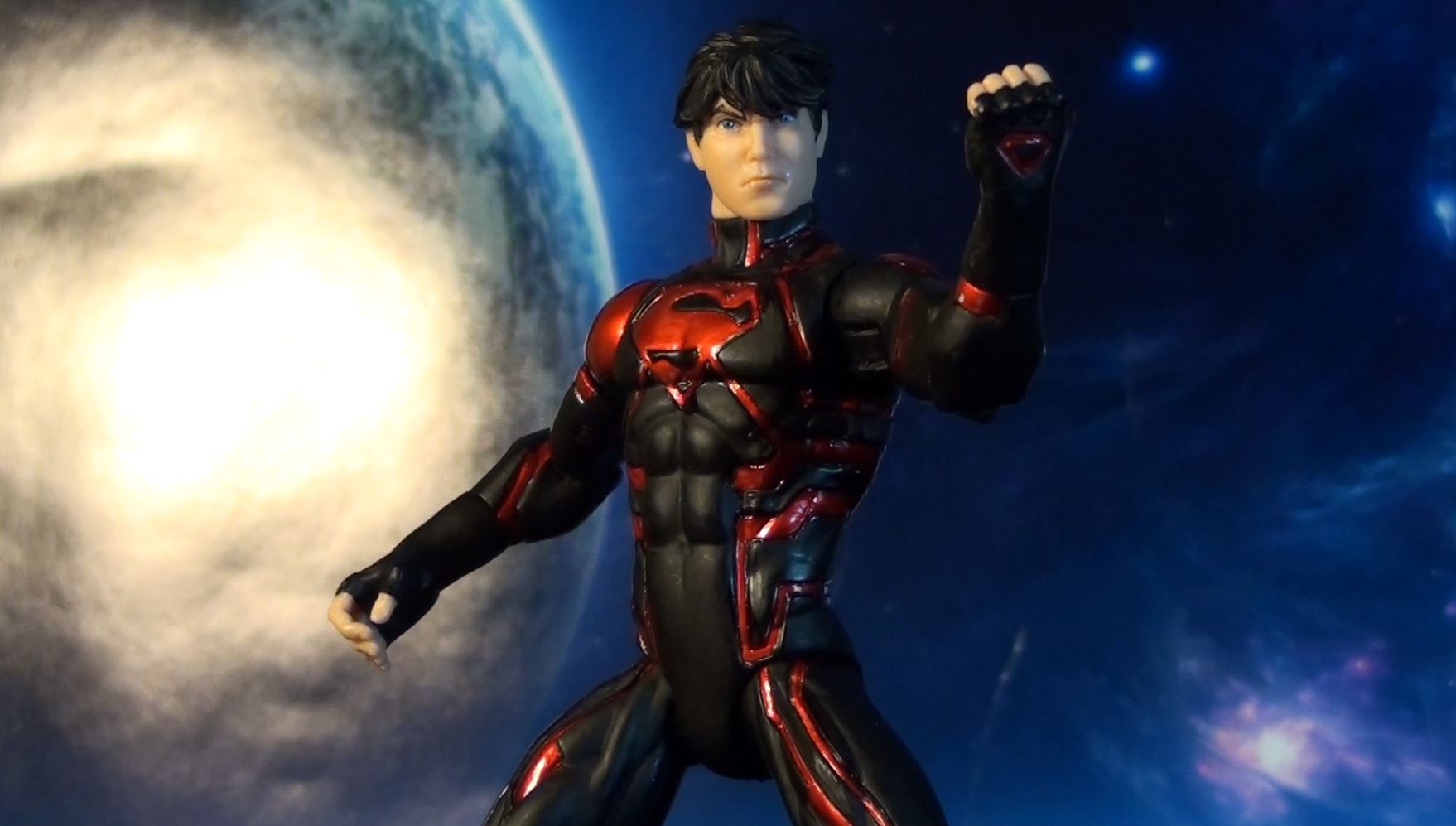 R323 Dc Collectibles Teen Titans New 52 Superboy Review -5397